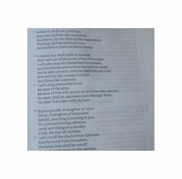 NKJV Poetic section