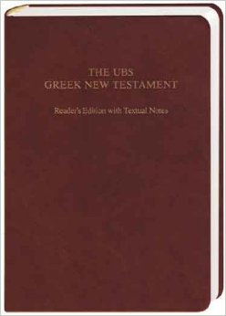 UBS Greek NT Readers