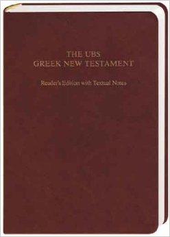 UBS Greek NT Readers