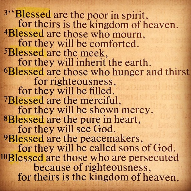 the beatitudes of jesus 2018-6-26 the beatitudes in aramaic with dr rocco errico uncovers the ancient language of jesus in his own native tongue it is widely known that jesus and his disciples spoke aramaic which was the common language of judea in.
