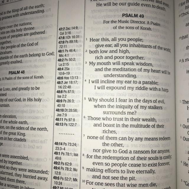 Psalm49MEV