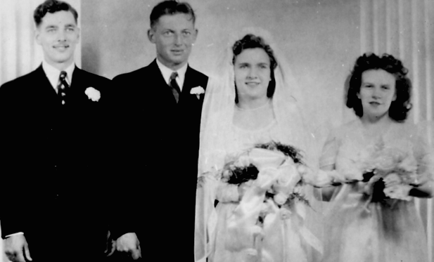 Wedding, Arthur Shields and Phyllis Staley, September 29, 1946