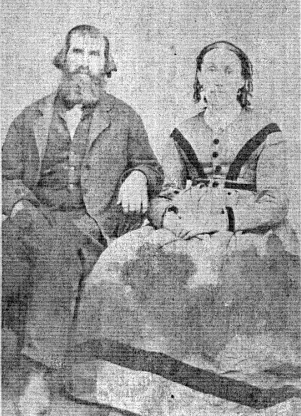 Cooper's my great-great-great grandparents. Photo most likely taken at the wedding of Emma Cooper and Sam Smith in 1870